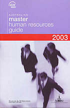 Australian master human resources guide 2003.