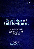 Globalisation and social development : European and Southeast Asian evidence
