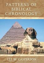Patterns of Biblical Chronology