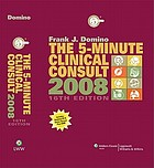 The 5-minute clinical consult 2008