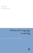 Advanced language learning : the contribution of Halliday and Vygotsky
