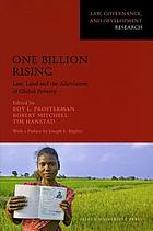 One billion rising : law, land and the alleviation of global poverty