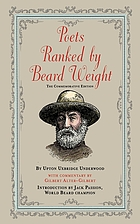 Poets ranked by beard weight : the celebrated Edwardian classic