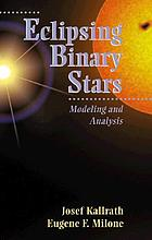 Eclipsing binary stars : modeling and analysis