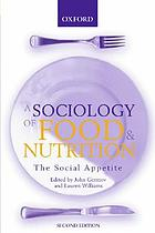 Sociology of Food and Nutrition: The Social Appetite cover image