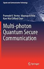 Multi-photon quantum secure communication