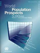 World population prospects. Vol. 1., Comprehensive tables : the 2008 revision