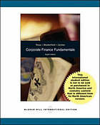 Corporate finance fundamentals