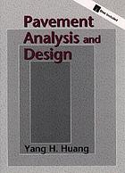 Pavement analysis and design