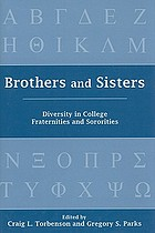 Brothers and sisters : diversity in college fraternities and sororities