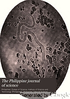 The Philippine journal of science.