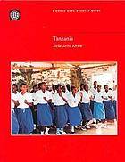 Tanzania : Social Sector Review.