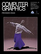 Computer graphics : proceedings : SIGGRAPH 98 Conference proceedings, July 19-24, 1998