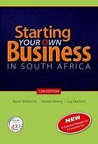 Starting your own business in South Africa