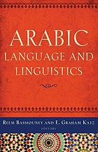 Arabic language and linguistics