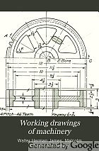 Working drawings of machinery,