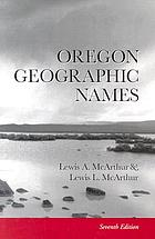 Oregon geographic names