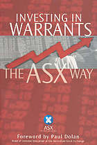 Investing in warrants : the ASX way