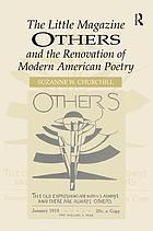 The little magazine Others and the renovation of American poetry
