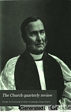 The Church quarterly review.
