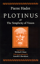 Plotinus, or, The simplicity of vision
