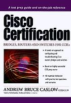Cisco certification : bridges, routers, and switches for CCIEs