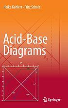 Acid-base diagrams