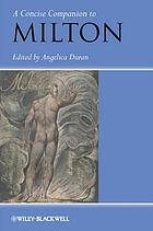 A concise companion to Milton