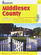 Hagstrom Middlesex County atlas.