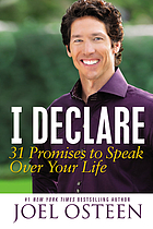 I declare : 31 promises to speak over your life