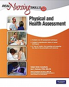 Physical and health assessment.