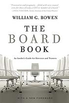The board book : an insider's guide for directors and trustees