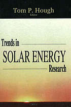 Trends in solar energy research