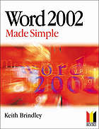 Word 2002 made simple