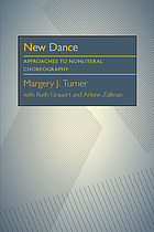 New dance : approaches to nonliteral choreography