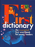 Two-can first dictionary.