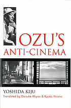 Ozu's anti-cinema