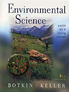 Environmental science : earth as a living planet