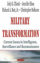 Military transformation : current issues in intelligence, surveillance and reconnaissance