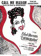 Call me madam : vocal selection