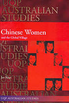Chinese women and the global village : an Australian site