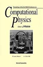Proceedings of the 2nd IMACS Conference on Computational Physics : St. Louis, Missouri 6-9 Oct 1993