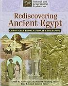 Rediscovering ancient Egypt.