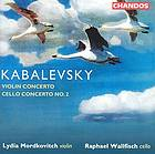 Violin concerto, op. 48 Cello concerto no. 2, op. 77