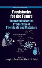 Feedstocks for the future : renewables for the production of chemicals and materials