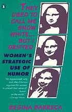 They used to call me Snow White-- but I drifted : women's strategic use of humor