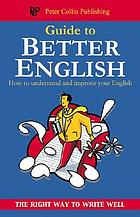 The guide to better English