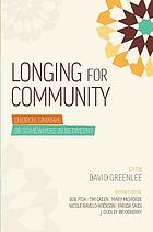 Longing for community : church, ummah, or somewhere in between?