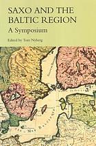 Saxo and the Baltic Region : a symposium