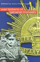 War letters of General Sir John Monash